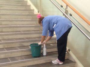 Apartman Temizliği Merdiven Temizliği